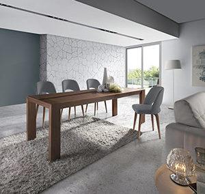 Mesa 278 y silla Lunaria