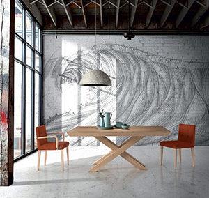 Mesa Yuca y sillón Lila