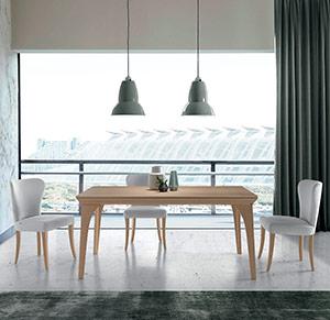 Mesa Ixia y silla Salvia