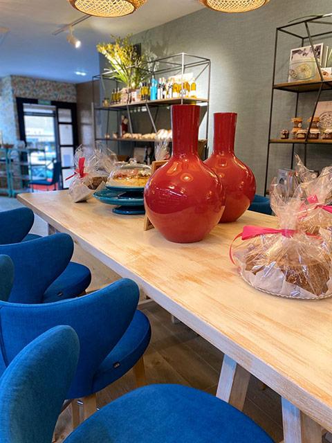 Mobiliario para el local The cook en Madrid