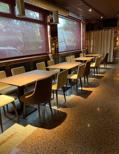Mobiliario para Restaurante Grupo Al Traste Barajas (Madrid)