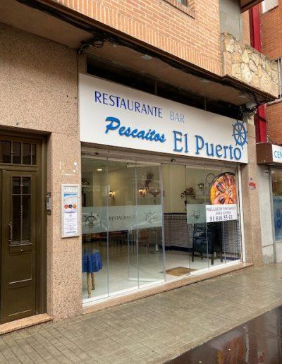 Fachada Obra Restaurante El Puerto