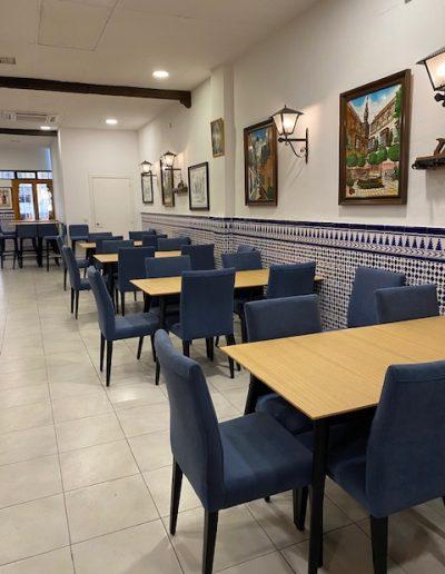 Mobiliario interior Restaurante El Puerto