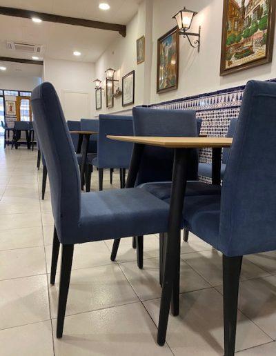 Sillas y mesas Restaurante El Puerto